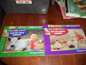 BENDON BEAR  FARM ANIMALS  (SET OF 2)