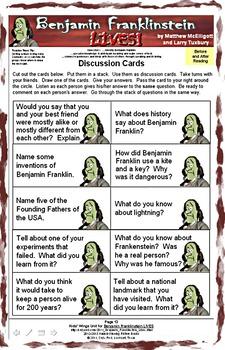 BENJAMIN FRANKLINSTEIN LIVES!  Science Fiction Introduces the Real Ben Franklin