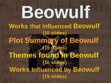 BEOWULF - (ALL 4 PARTS) visual, textual, interactive 50-slide PPT