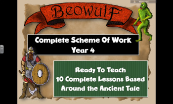 BEOWULF (COMPLETE ENGLISH UNIT) READY TO TEACH Grade 4