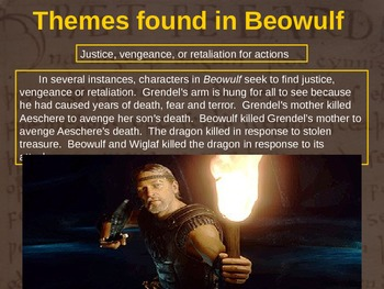 BEOWULF - (PART 3: THEMES FOUND IN BEOWULF) visual, interactive