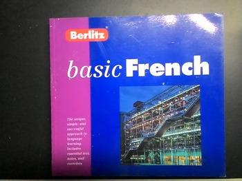 BERLITZ FRENCH   ISBN 2831561760