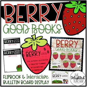BERRY Good Book Recommendations {Flipbook & Interactive Display}