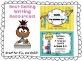 BEST SELLER BUNDLE!  - BEST SELLING WRITING RESOURCES FOR ELL & SpEd
