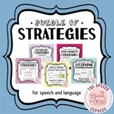 BESTSELLERS Bundle: Strategies for Speech and Language (Gr