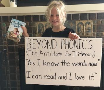 BEYOND PHONICS ( The Antidote For Illiteracy )