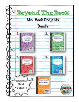 BEYOND THE BOOK mini projects for any novel BUNDLE
