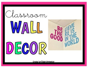 BElieve THEre is GOOD in the world (Wall Decor)