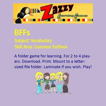 BFFs  Folder Game for Common Suffixes