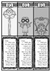 BFG - Big friendly giant-bookmarks in black/white with quo