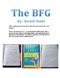 BFG Chapter Questions