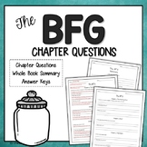 The BFG Chapter Questions