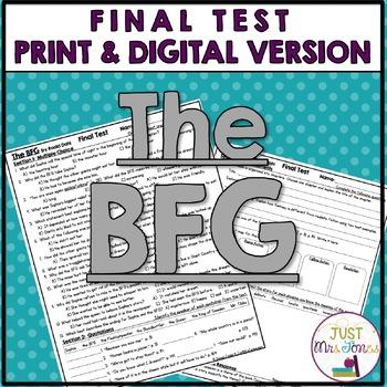 The BFG Final Test