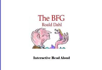 BFG Interactive Read Aloud Bookworms Program