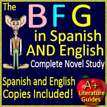 The BFG Novel Study Quiz and Test Bundle
