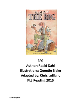Bfg roald dahl adapted book chapter summary review for Roald dahl book review template
