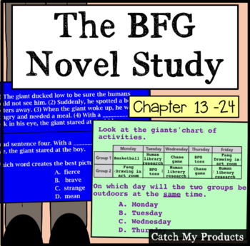 The BFG (Second half of book/Part II) Literary Unit for Promethean Board
