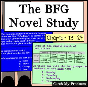 BFG (Second half of book/Part II) Literary Unit for Promet