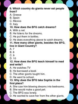 BFG Test