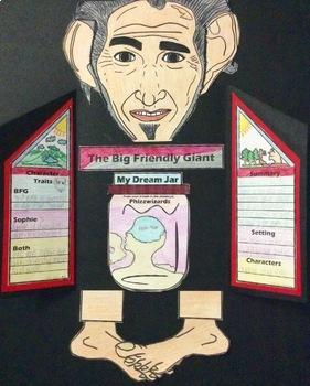 The BFG (The Big Friendly Giant) Craftivity Roald Dahl