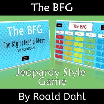 BFG The Big Friendly Giant Roald Dahl Novel Study Review