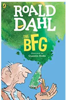 BFG The Big Friendly Giant by Roald Dahl
