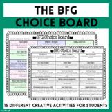 BFG choice street - variety of engaging activities based o