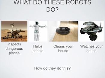 BG-BOT - Understanding Robots - Programming