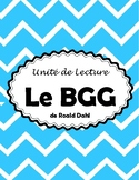 Le BGG - Novel Study (*FRENCH*)