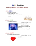 BHH (Book, Head, Heart) Reading Poster