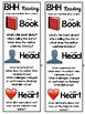 BHH Reading - Book, Head, Heart Reading - Poster and Bookmarks - Freebie