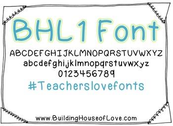 BHL Font {Freebie}