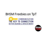 BHSM Freebies on TpT
