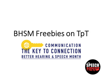 BHSM Freebies on TpT