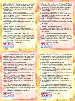 BHSM Packet for SLPs