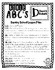 BIBLE ABC'S - Letter D