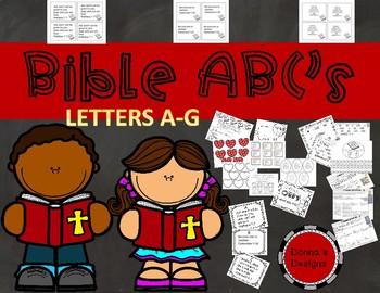 BIBLE ABC'S : Letters A-G