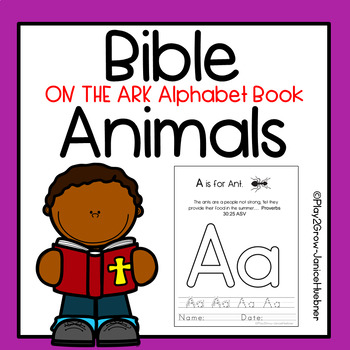 Bible Lesson: Animals Alphabet Book