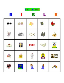 graphic about Bible Bingo Printable identified as BIBLE BINGO