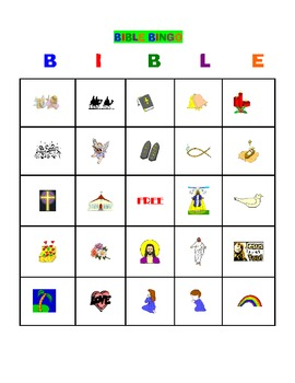 BIBLE BINGO