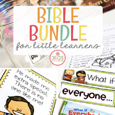 BIBLE LESSONS BUNDLE FOR LITTLE LEARNERS | GROWING BUNDLE