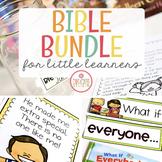 BIBLE LESSONS BUNDLE FOR LITTLE LEARNERS | GROWING BUNDLE