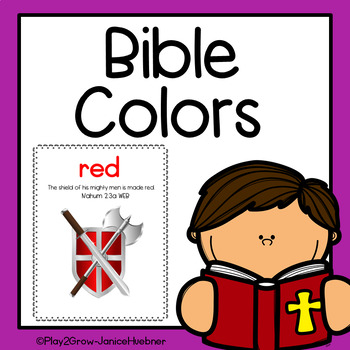 Bible Colors Posters and Coloing Pages