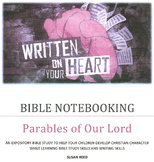 BIBLE NOTEBOOKING: Parables of Our Lord