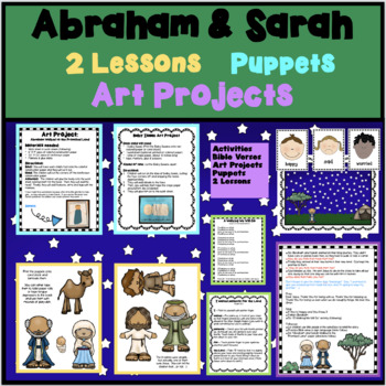 BIBLE ON A BUDGET: ABRAHAM & SARAH FOR PRESCHOOLERS stories puppets activities