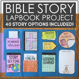 BIBLE STORY Lapbook Project   Interactive Notebooks   Religious Education