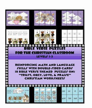 BIBLE VERSE PUZZLES FOR THE CHRISTIAN CLASSROOM