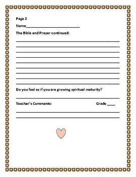 BIBLE WRITING/RESEARCH PROMPT: PRAYER & THE HOLY SCRIPTURES/BIBLE