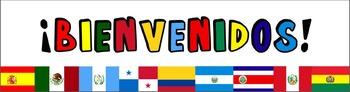 BIENVENIDOS (SPANISH) BANNER