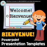 BIENVENUE  Powerpoint Presentation Templates